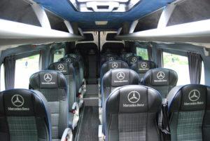 www.atut.com.pl Mercedes 23+1 przedłużany wnętrze